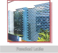 punched laths
